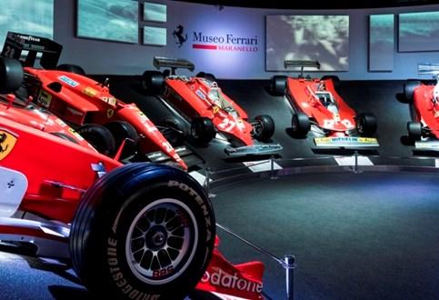 Ferrari abre duas novas exposições no Museu em Maranello