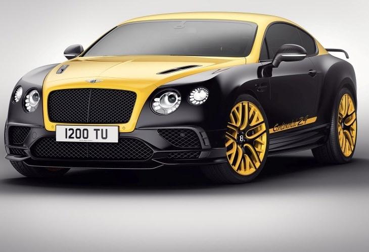Este Bentley Continental é série limitada a 24 unidades