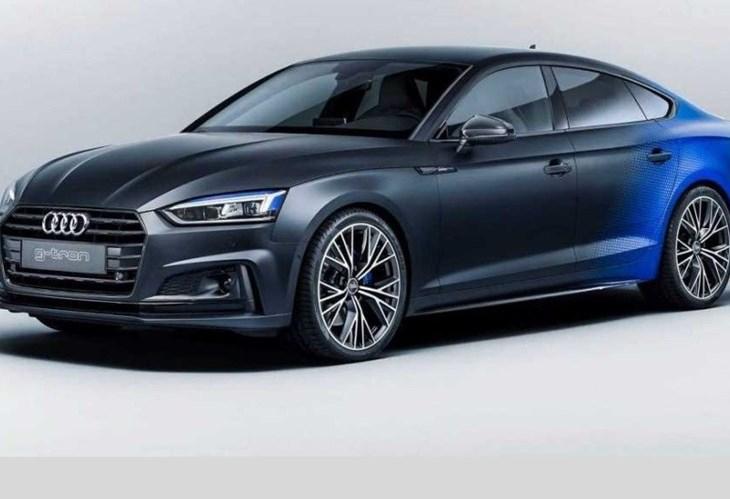 Audi leva um A5 único a gás natural a Worthersee