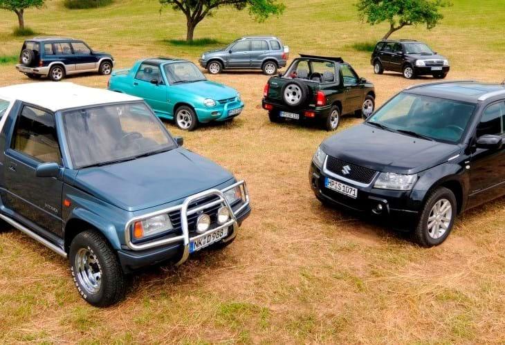 Suzuki Vitara festeja 30 anos de idade