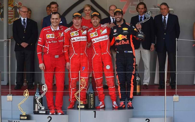 G.P. Mónaco: Vettel quebrou jejum de 16 anos para a Ferrari