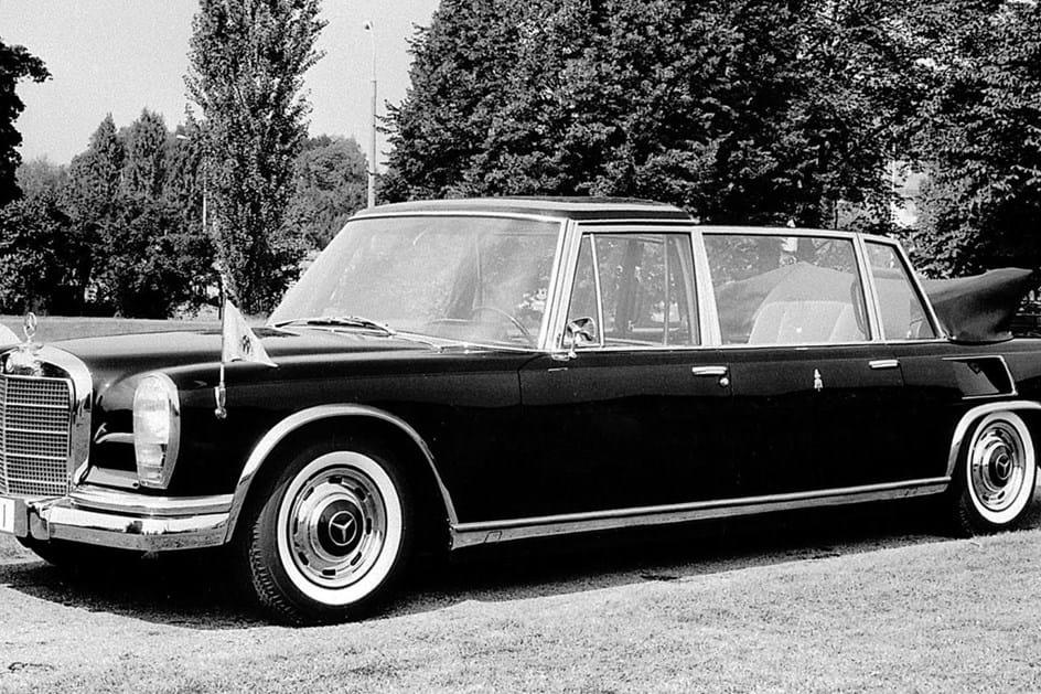Mercedes 600 Pullman - 1965 - Papa Paulo VI
