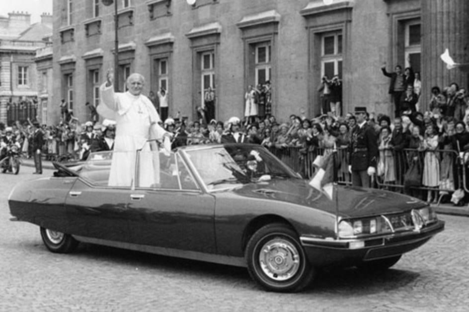Citroen SM - 1974 - Papa Paulo VI