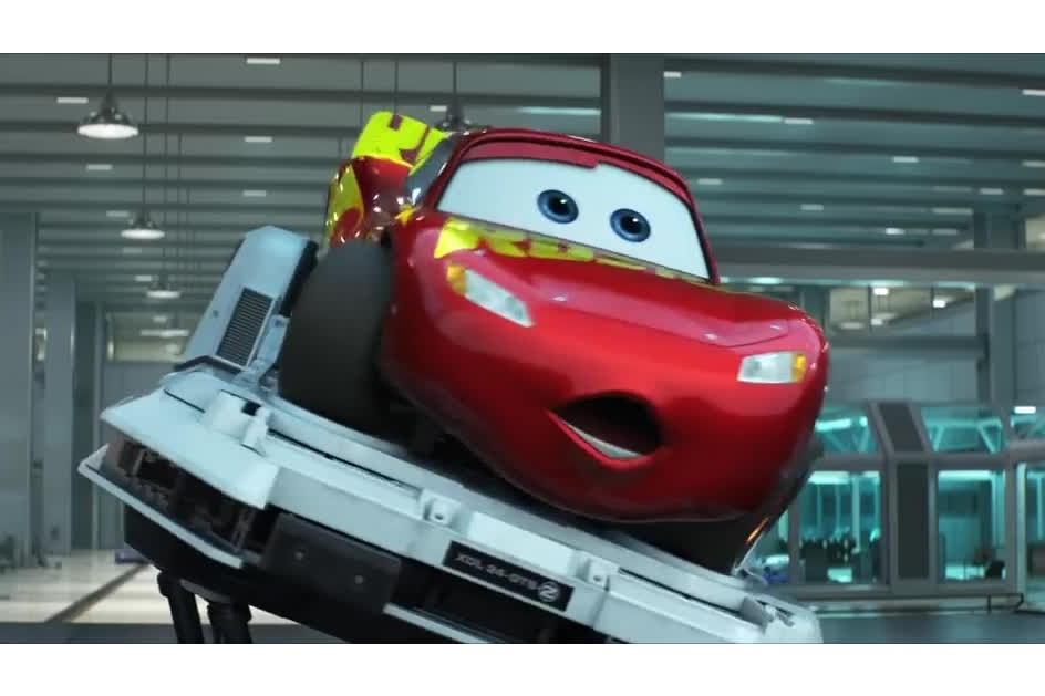 O novo trailer de Carros 3