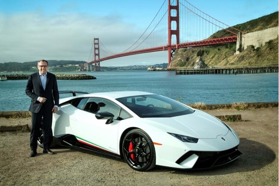 CEO fala do futuro da Lamborghini
