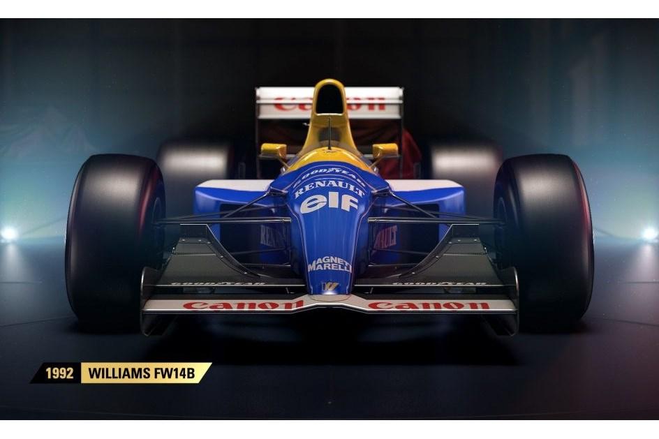 Novo jogo da F1 marca regresso ao passado!
