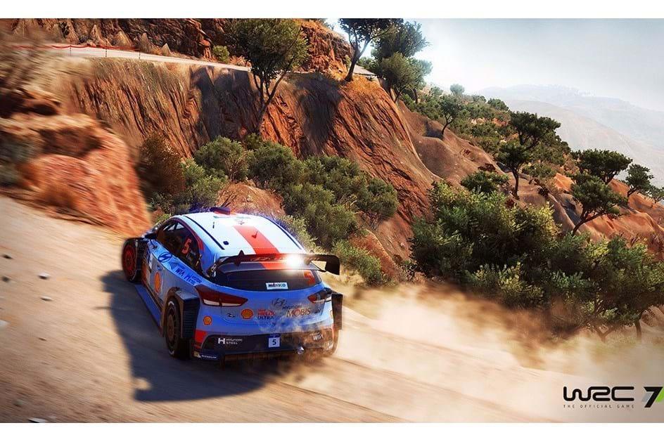O primeiro trailer de WRC 7