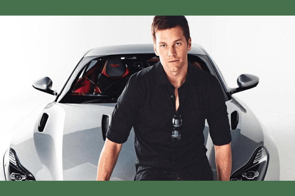 Aston Martin e Tom Brady juntos