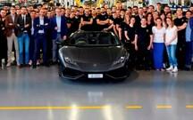 Lamborghini fez 8000 Huracán em três anos!