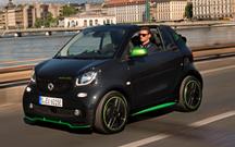 Smart fortwo cabrio ed é electrizante!