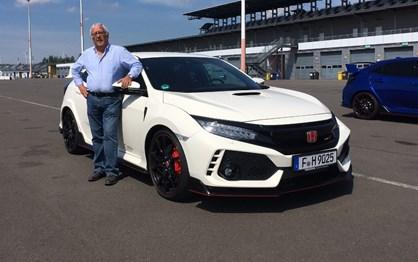 Guiámos o novo Honda Civic Type R