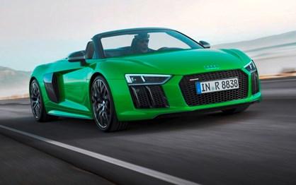 Este R8 é o descapotável mais potente da história da Audi