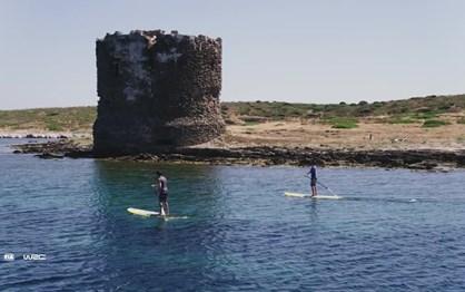 O Rali da Sardenha filmado por drones