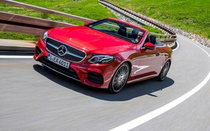 Mercedes Classe E Cabrio vai custar mais 7000 € que o Coupé