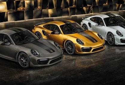Porsche mostrou o 911 Turbo S mais potente de sempre em novas cores!
