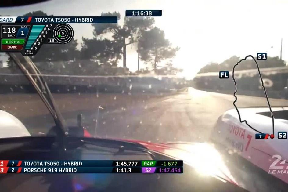 Toyota de Kobayashi é o mais rápido de sempre em Le Mans