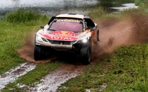 Silk Way Rally: Peterhansel na frente