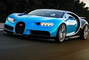 Lisboa-Porto num Bugatti Chiron custa quase 100 €… só em gasolina!