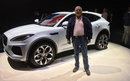 Em Londres com o novo Jaguar E-Pace