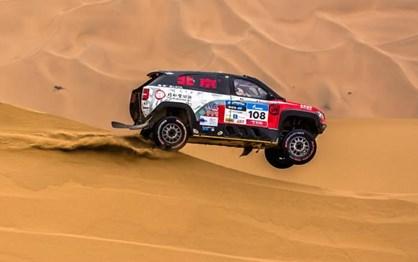 Silk Way Rally: Lavieille venceu 12.ª etapa. Despres sofreu mas lidera