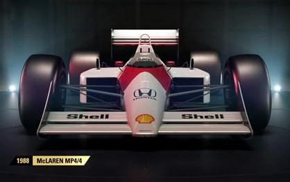 F1 2017 terá quatro clássicos McLaren