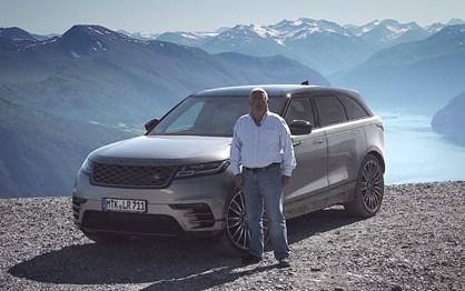 Fomos à Noruega guiar o novo Range Rover Velar