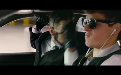 """Os primeiros seis minutos de """"Baby Driver - Alta Velocidade"""""""
