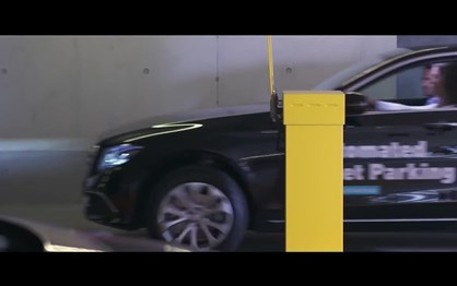 A proposta da Mercedes para o estacionamento autónomo