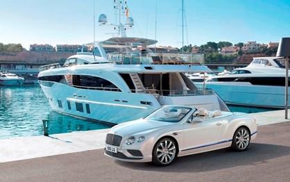Bentley transforma Continental GT Cabrio em iate com rodas