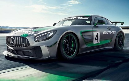 Novo Mercedes AMG GT4 está pronto para a festa de Spa
