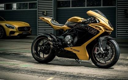 Acabaram-se as motos MV Agusta com assinatura Mercedes-AMG