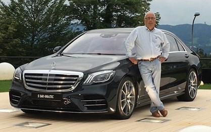 Guiámos o novo Mercedes Classe S