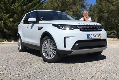 Ao volante do Land Rover Discovery 3.0 TD6