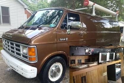 Antiga carrinha de vigilância do FBI está à venda