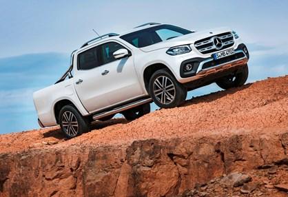 Pick-up Classe X da Mercedes chega em Novembro