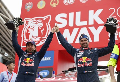 Silk Way Rally: Desprès repetiu a vitória