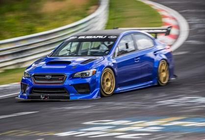 Subaru Impreza WRX STI foi a Nurburgring e trouxe um recorde