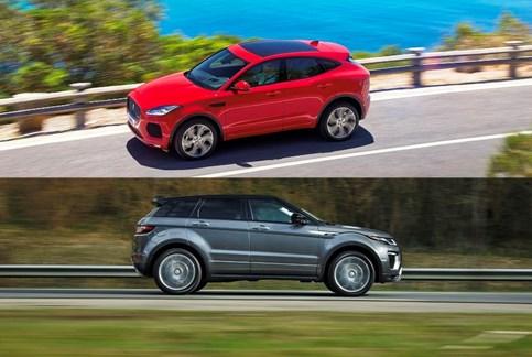 Evoque vs Jaguar E-Pace