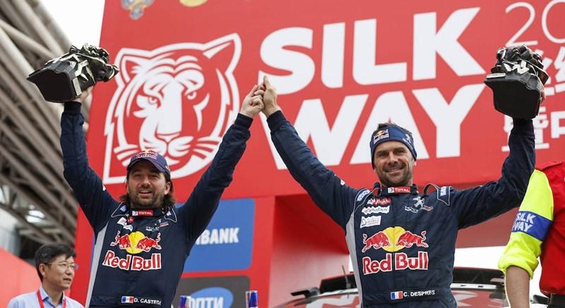 Silk Way Rally: Desprès repetiu a vitória