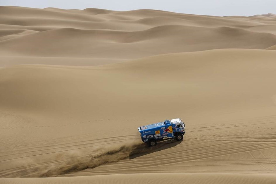 Silk Way Rally: Desprès é o novo líder
