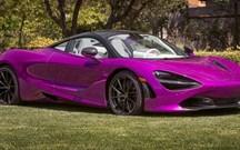 McLaren faz 720S único à medida da… Barbie!