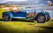 Mercedes S Barker Tourer de 1929 foi o rei de Pebble Beach