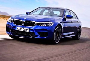 As primeiras imagens e informações do novo BMW M5!