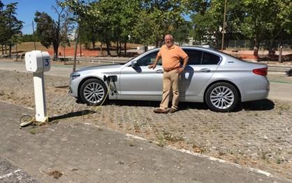 BMW 530e iPerformance em ensaio