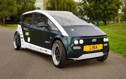 Estudantes criam carro eléctrico biodegradável
