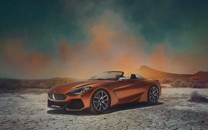 As primeiras imagens do BMW Z4 Concept!