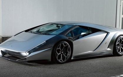 Kode 0:  O  Lamborghini Aventador revisto pelo designer do Ferrari Enzo