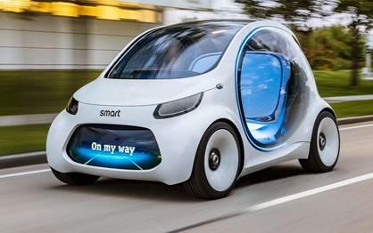 """Novo Smart Vision EQ Concept é uma """"bolha"""" autónoma para dois"""
