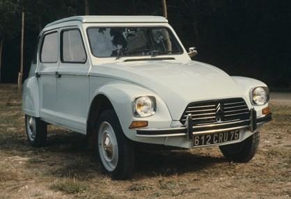 Citroën Dyane chega aos 50 anos