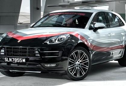 """Macan é o mais recente Porsche a """"vestir"""" as cores de competição"""